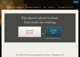goldclub.theatermania.com