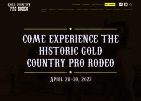 goldcountryprorodeo.com