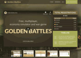 goldenbattles.com