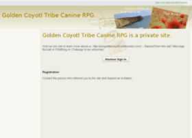 goldencoyotltribe-caninerpg.wikifoundry.com