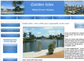 goldenisles-homes.com