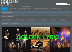 goldenlyric.com