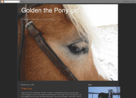 goldentheponygirl.blogspot.com