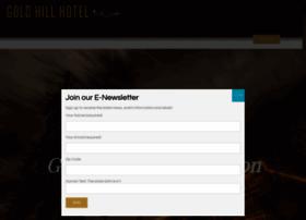 goldhillhotel.net