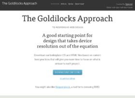 goldilocksapproach.com