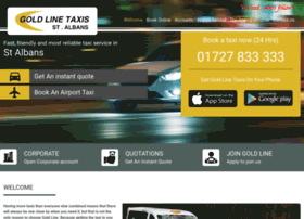 goldlinetaxis.co.uk