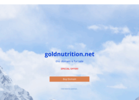 goldnutrition.net