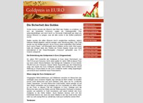 goldpreisineuro.com