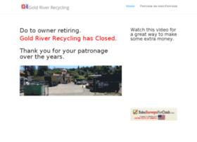 goldriverrecycling.com