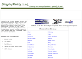 golf-equipment.shoppingvariety.co.uk