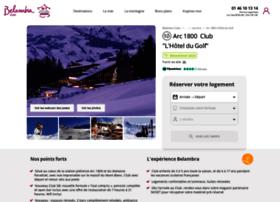 golf-hotel-lesarcs.com