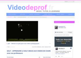 golf-pour-les-nuls.videodeprof.fr