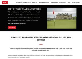 golfcoursesandclubs.net
