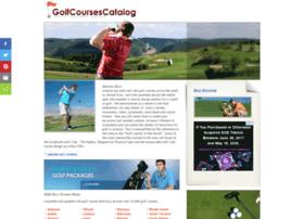 golfcoursescatalog.com