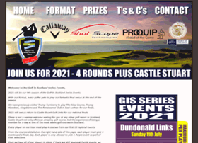 golfinscotlandseriesevents.co.uk