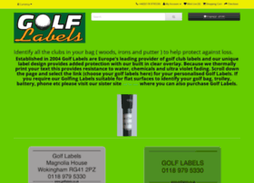 golflabels.co.uk