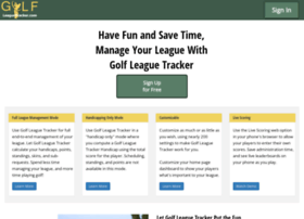 golfleaguetracker.com
