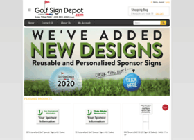 golfsigndepot.com