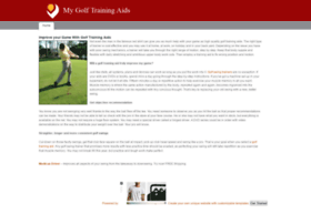 golftrainingaids.weebly.com