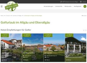golfurlaub-allgaeu.de