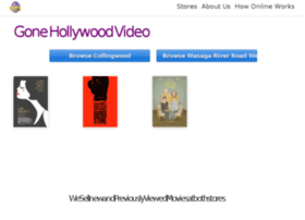 gonehollywoodvideo.com