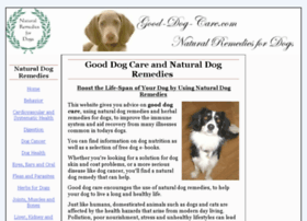 good-dog-care.com
