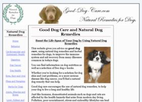 good-dog-care.com