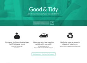 goodandtidy.com