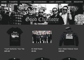 goodcharlotte.gomerch.com