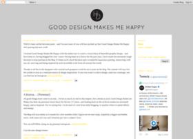gooddesignmakesmehappy.com