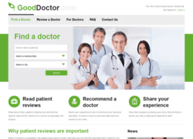 gooddoctor.com