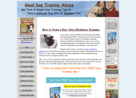 gooddogtrainingadvice.com