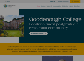 goodenough.ac.uk