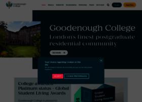 goodenough.ac.uk