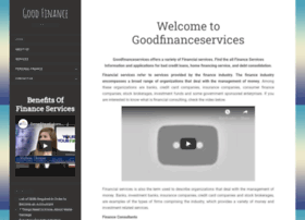 goodfinanceservices.com