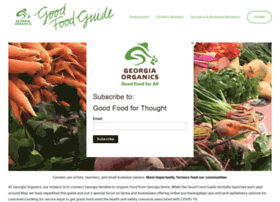 goodfoodguide.georgiaorganics.org