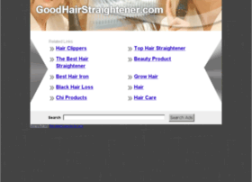 goodhairstraightener.com