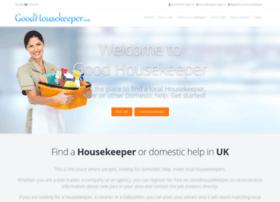 goodhousekeeper.co.uk