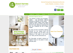 goodkarmaecocleaning.com