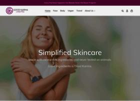 goodkarmaskincare.com