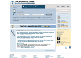 goodlawyerguide.com