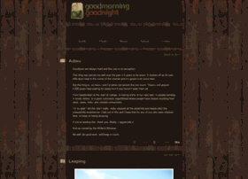goodmorningandgoodnight.com