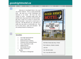 goodnightmotel.ca