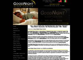 goodnightsleepcenter.com