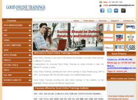 goodonlinetrainings.com
