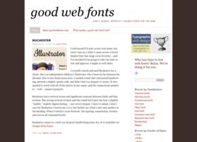 goodwebfonts.com