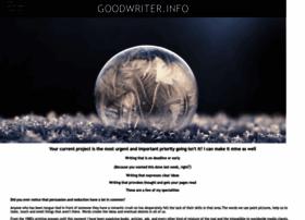 goodwriter.info