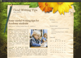 goodwritingtips.blog.com