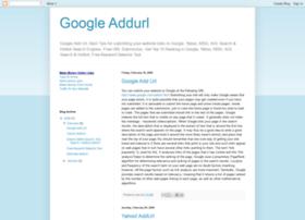 google-addurl.blogspot.com