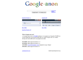 google-anon.com